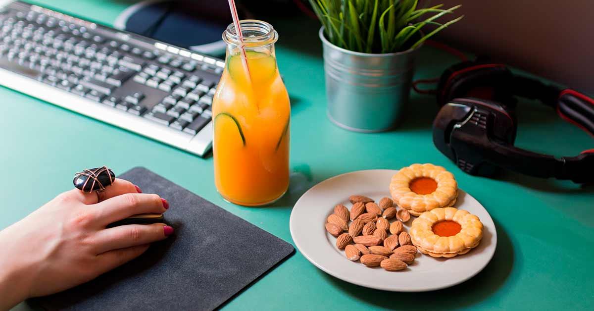 Le 10 migliori merende in ufficio