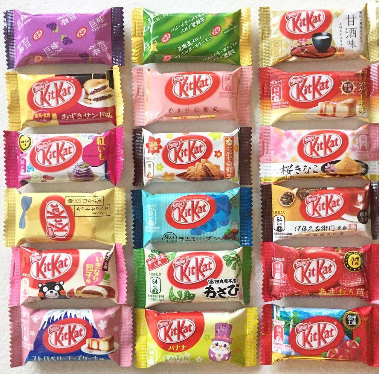 La mania dei giapponesi per il Kit Kat