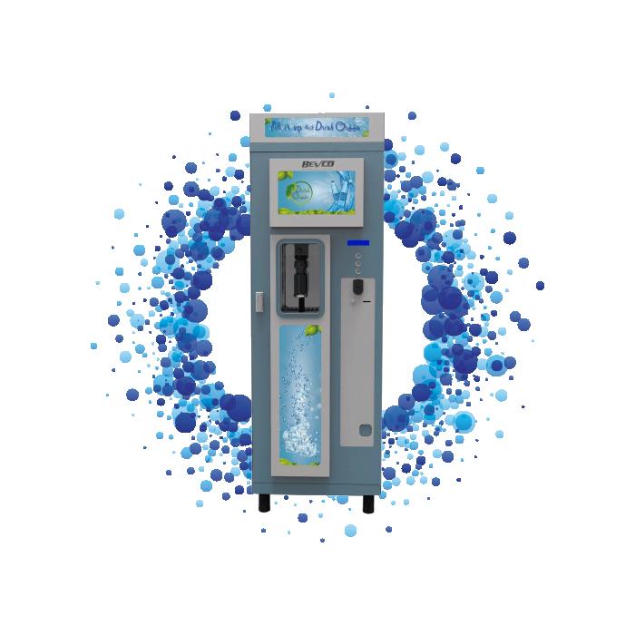 Distributore Automatico di Acqua con Borracce